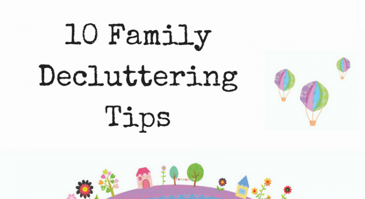 family decluttering tips
