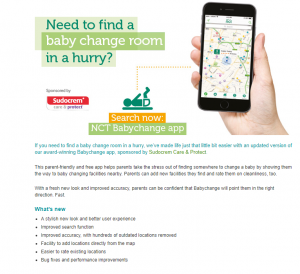 LPM Apps NCT Babychange